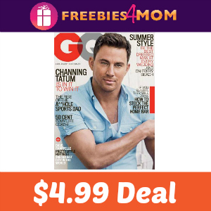 Magazine Deal: GQ $4.99