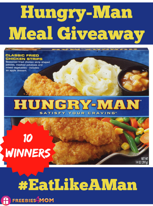 Hungry-Man Eat Like A Man Giveaway (10 winners)