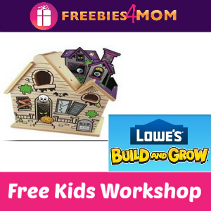 Free Haunted House Lowe's Kids Clinic Oct. 11