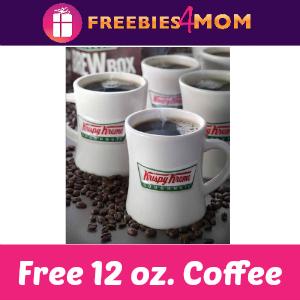 Free 12 oz. Coffee at Krispy Kreme Sept. 29