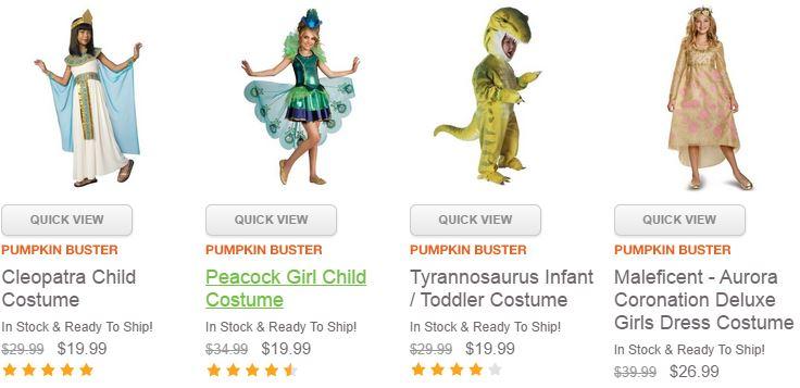 Kids Costume Deals