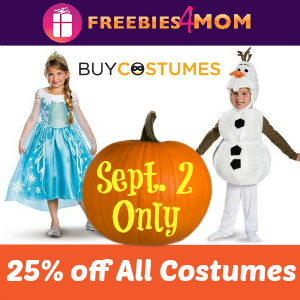 Halloween Costume Deals at BuyCostumes.com