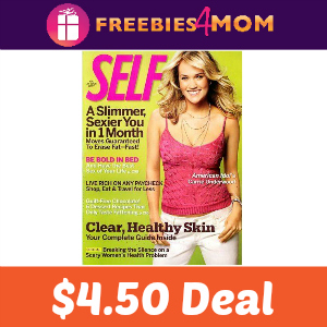 Magazine Deal: Self $4.50