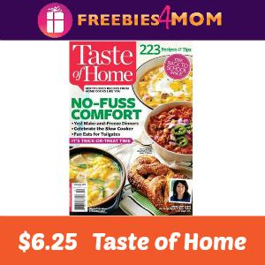Magazine Deal: Taste of Home $1 per issue