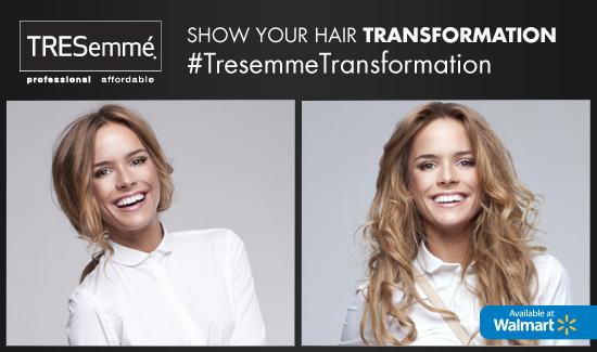 #TresemmeTransformation Sweepstakes
