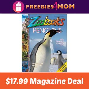 Magazine Deal: Zoobooks $17.99