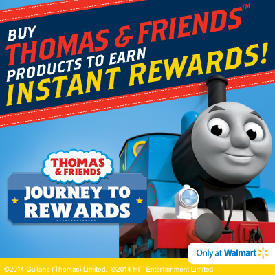 Buy Thomas & Friends products to earn Instant Rewards at Walmart