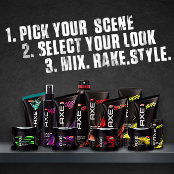 AXE® Hair products at Walmart