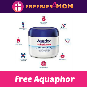 Free Aquaphor Healing Ointment *first 2,500 at 2pm CT*
