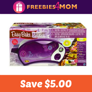 Coupon: Save $5.00 on Easy-Bake Ultimate Oven