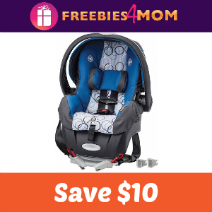 Coupon: Save $10 on Evenflo Car Seats