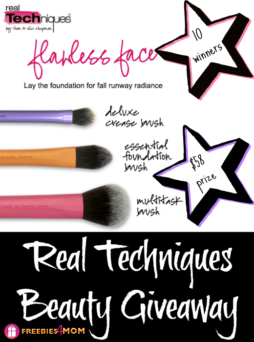 Real Techniques Beauty Giveaway ~ Get The Fall Look