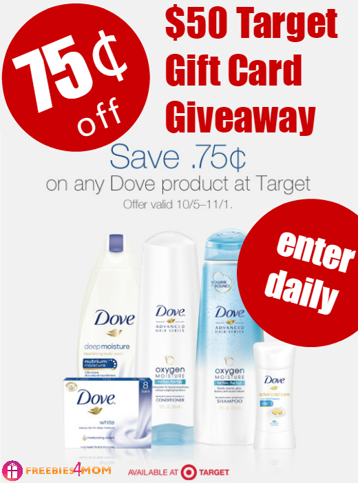 $50 Target Gift Card Giveaway ~ Dove Beauty Legacy