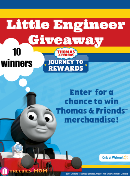 Thomas & Friends Giveaway *10 Winners*