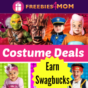 Earn Swagbucks When You Buy Your Halloween Costumes!