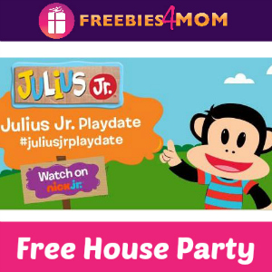 Free House Party: Julius Jr. Playdate