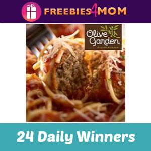 Sweeps: Olive Garden eGift Card Giveaway