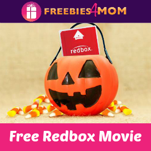 Free Redbox Movie for Halloween