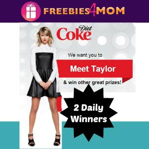 Sweeps Diet Coke Meet & Greet with Taylor Swift
