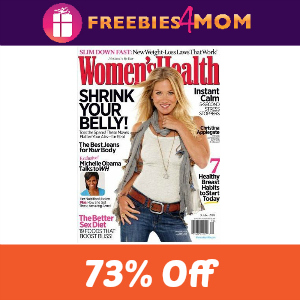 Magazine Deal: Women's Health $4/year