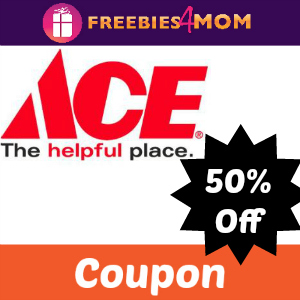 Coupon: 50% Off at Ace Hardware on Friday