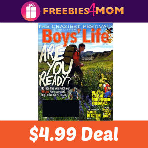 Magazine Deal: Boy's Life $4.99