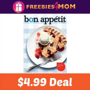 Magazine Deal: Bon Appetit $4.99 (66% Off)