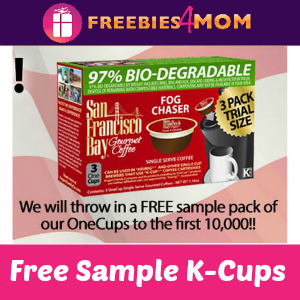 Free Sample San Francisco Bay Coffee K-Cups & Freedom Clip