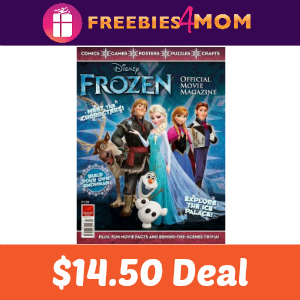 Magazine Deal: Disney Frozen $14.50