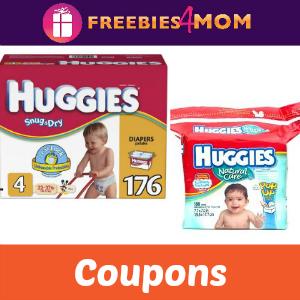 Coupons: Huggies Diapers & Wipes