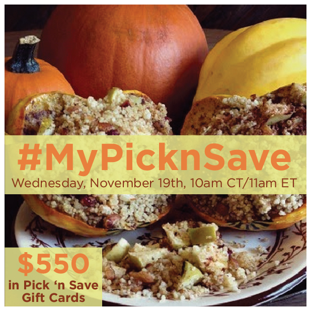 #MyPicknSave-Twitter-Party-11-19-11amEST,#TwitterParty,#shop,sweepstakes on Twitter