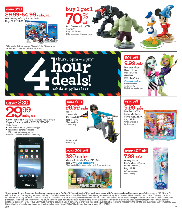 "Toys""R""Us Black Friday Deals"