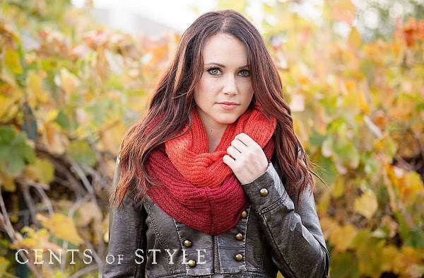 Cents of Style Knit Infinity Scarf