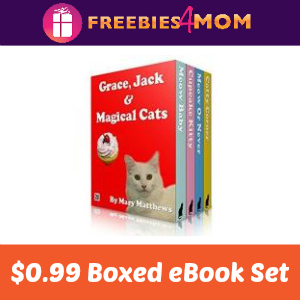 Cool Cats Boxed eBook Set $0.99