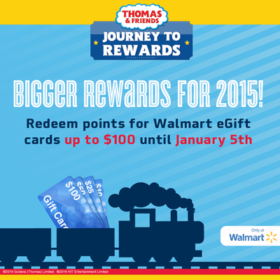 Thomas & Friends Journey to Rewards Bigger Rewards for 2015