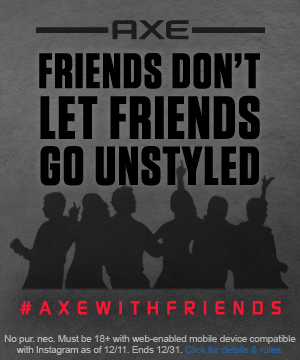 AXE® with Friends Sweepstakes