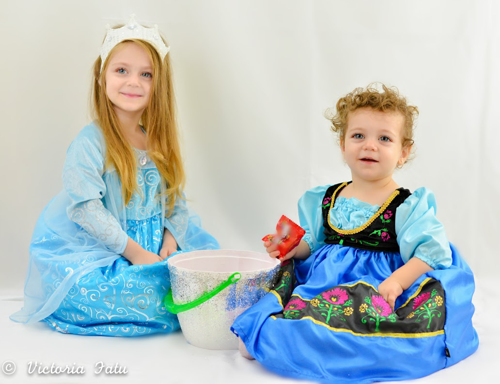 Frozen Inspired Dress Up