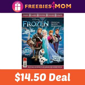 Magazine Deal: Disney Frozen $14.50