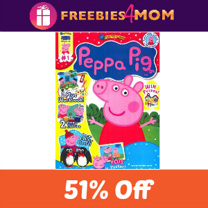 Magazine Deal: Peppa Pig $13.99