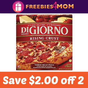 Coupon: $2 off 2 Digiorno Pizza (+Target Deal)