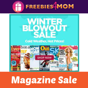Winter Blowout Magazine Sale