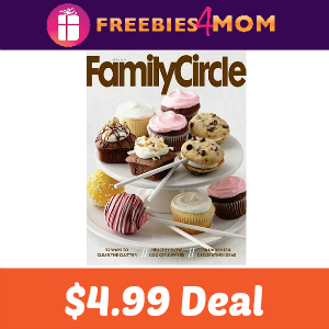 Magazine Deal: Family Circle $4.99/year
