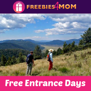 Free Entrance in the National Parks April 15-16, 22-23