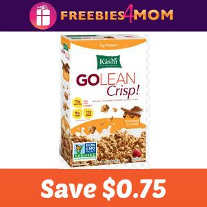 Coupon: Save $0.75 on Kashi Cereal