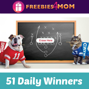 Sweeps Purina Prize Bowl (51 Winners/Day)