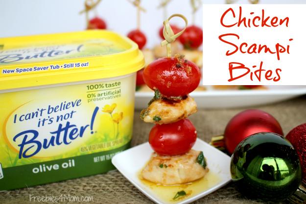 Chicken Scampi Bites Appetizer Recipe