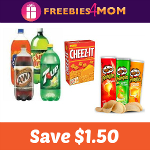 Coupon: Save $1.50 on Snacks & Drinks