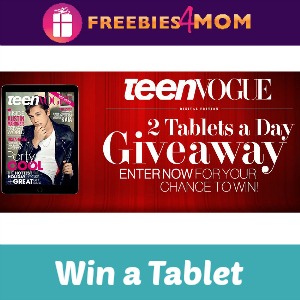 Sweeps Teen Vogue 2 Tablet-A-Day