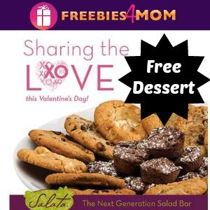 Free Dessert at Salata on Valentine's Day