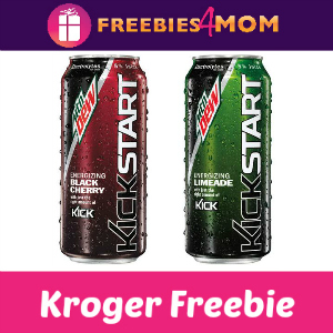 Free Mountain Dew Kickstart at Kroger
